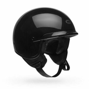 CASCO-BELL-SCOUT-AIR-NERO-LUCIDO-TG-M-293824320323